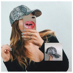 SnakeSkin baseball hat